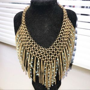 Steve Madden Gold Collar Necklace
